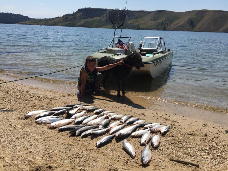 2017 Anderson Ranch Reservoir Kokanee Fishing Report - Page 3